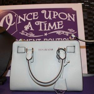 Michael Kors Mint Green Dillon Handbag